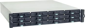 EonNAS 3012S 2U/12 bay Unified Storage (NAS and iSCSI) Single controller