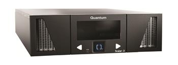 Quantum Scalar i3, one IBM LTO-7 Tape Drive Module, 25 licensed slots, half height 6Gb, SAS, Single mini-SAS-HD, 3U